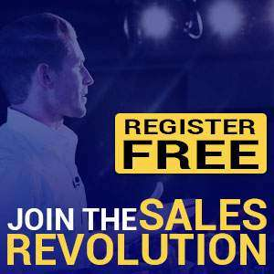 Join The Sales Revolution - Register Free