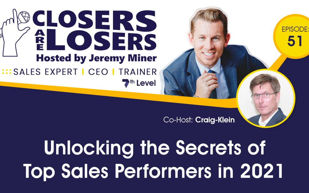 Unlocking the Secrets of Top Sales Performers in 2021